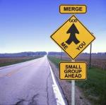 small group merge sign