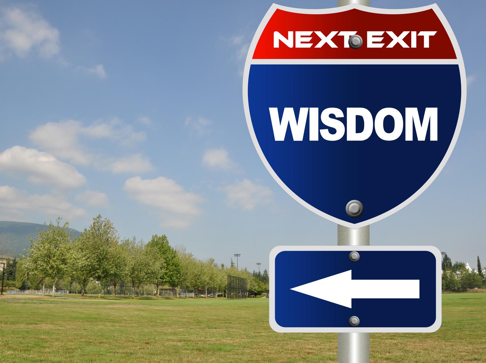 wisdom cries out in th... Wisdom